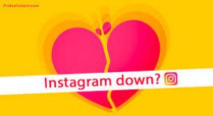 down instagram