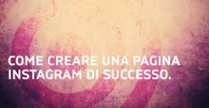 come creare una pagina instagram oltre al profilo