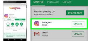 aggiornamento instagram