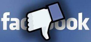 facebook down ora